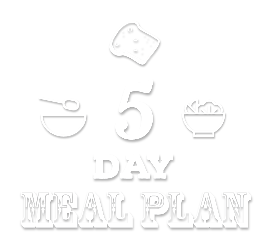 5 Day Meal Plan - The Lo-Cal Kitchen